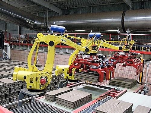 Automatismo para planta de ladrillo y teja