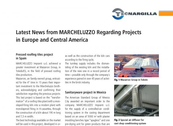 New important order assigned to Marcheluzzo Ceramics in the Sanitary ware industry